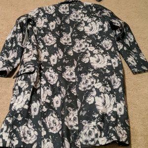 BB Dakota Jackets & Coats - BB Dakota Gunievere Floral Duster Coat